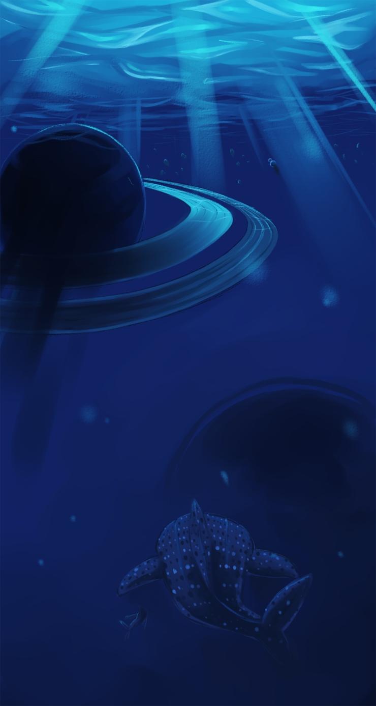 Chen-Saturn Under the Sea