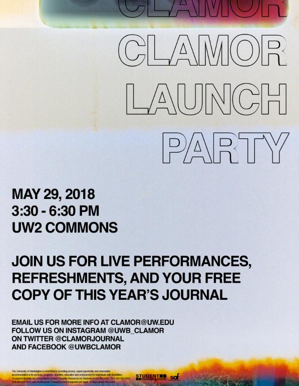 Clamor – UWB's Literary & Arts Journal